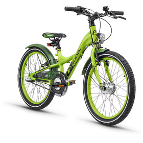 s'cool XXlite 20 3-S Børnecykel alloy grøn